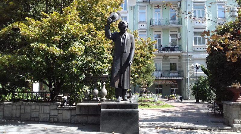 памятник щалом-алейхему