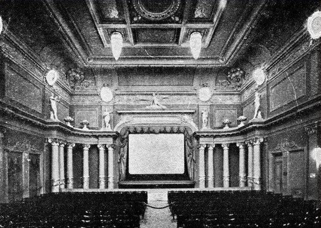 Первый городской кинотеатр в Киеве - «кино-театр Шанцера»