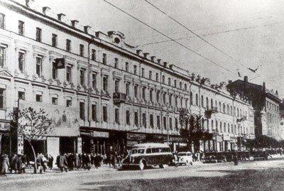 Перший міський кінотеатр в Києві - «кіно-театр Шанцера»