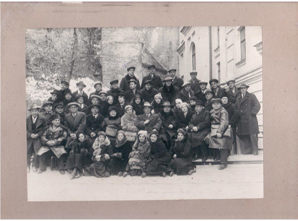 Франковцы в 1930-1940 гг