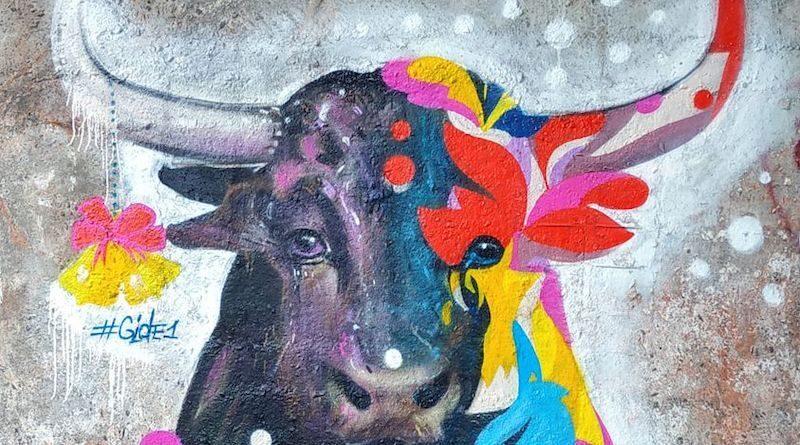 графіті бик