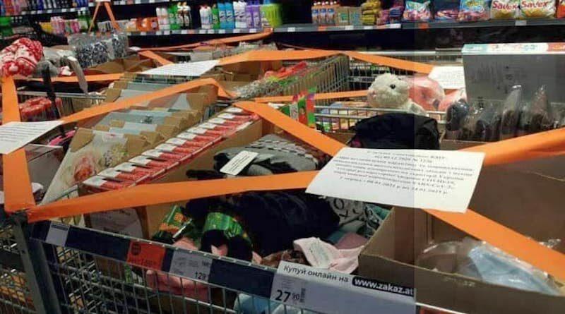 У супермаркетах почали готуватися до локдауну