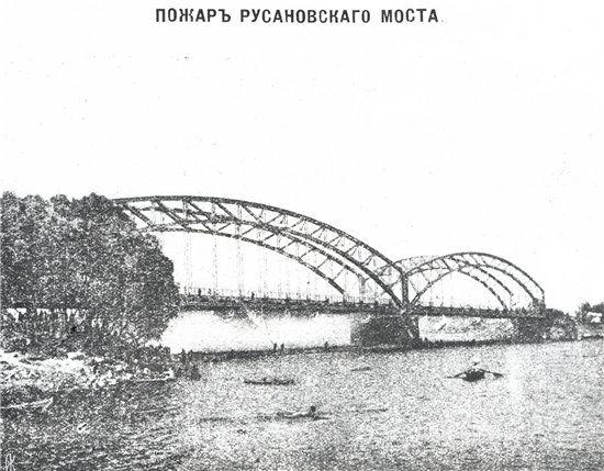 Русанівський міст. Історія Києва