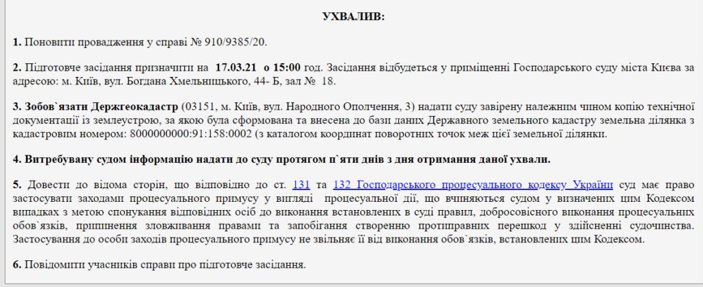 Музей истории Украины требует через суд снести часовню УПЦ Московского патриархата