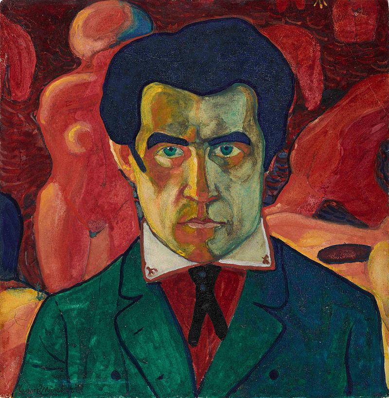 Казимир Малевич и черный квадрат