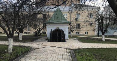 Старовинний льох Михайлівського Золотоверхого монастиря