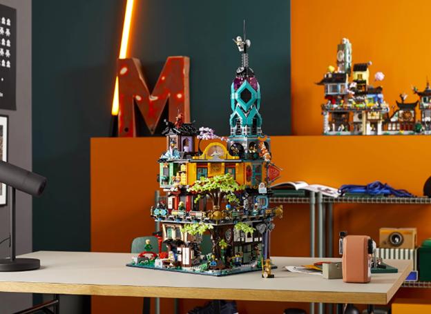 LEGO Ninjago: новые наборы в честь десятилетия компании