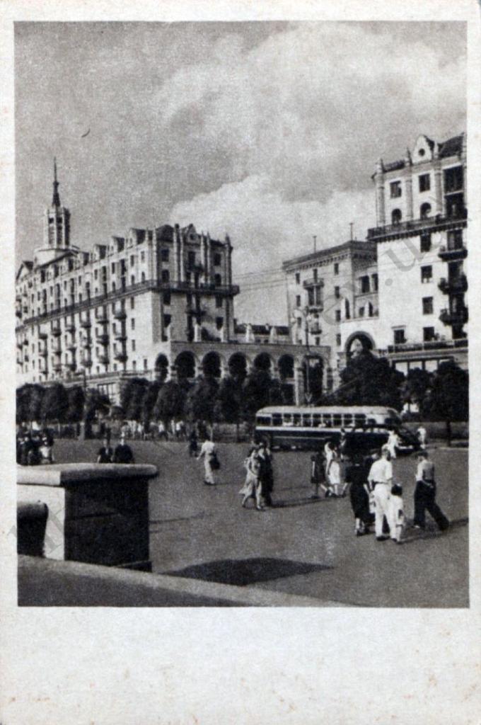 Киев на открытках 1955