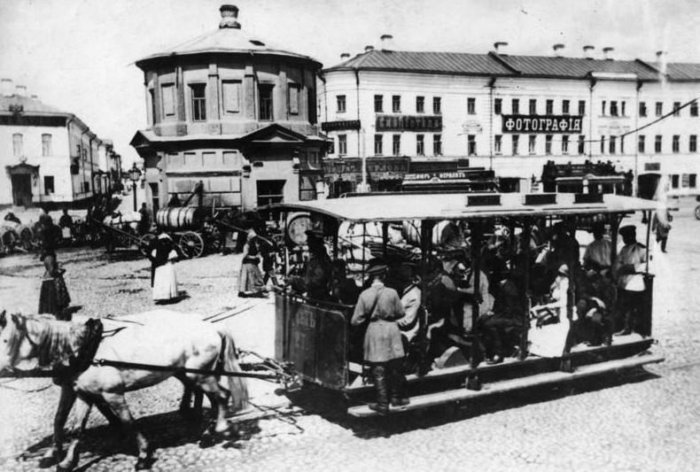 Київський кінний трамвай