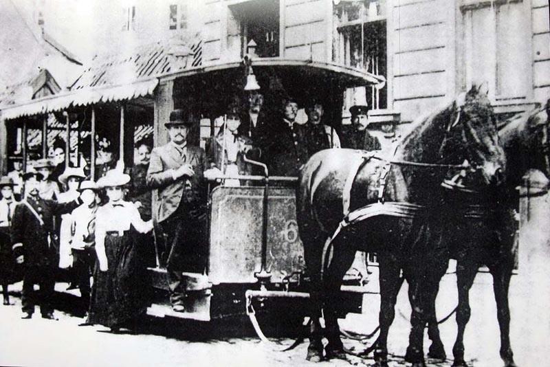 Киевский конный трамвай