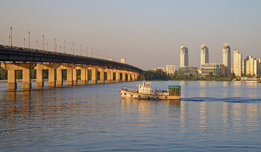 Мост Патона.  История