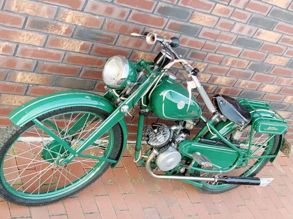 Перший київський мотоцикл К1-Б «Киевлянин»