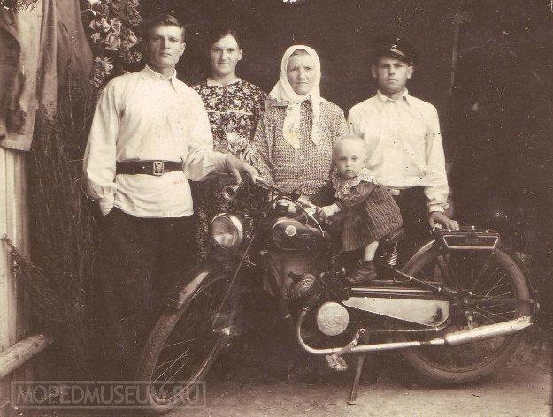 """Первый киевский мотоцикл К1-Б """"Киевлянин"""""""