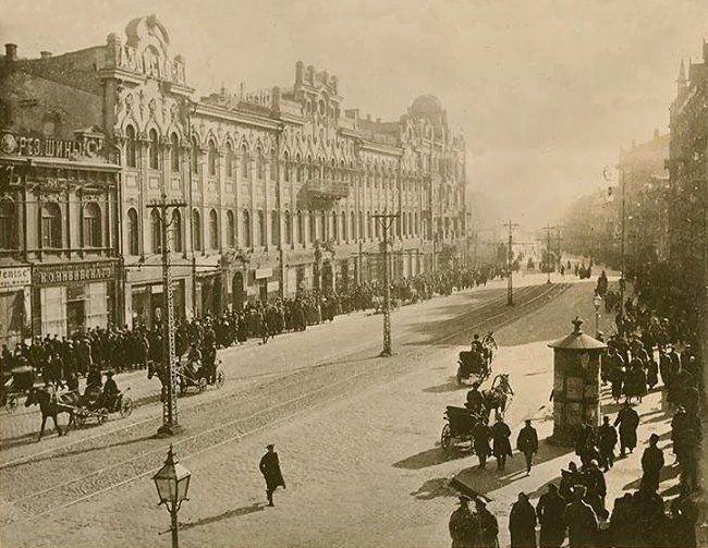 Вибухи артскладів на Звіринці 1918 року.