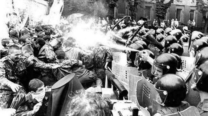 Черный вторник или второе софийское побоище 1995