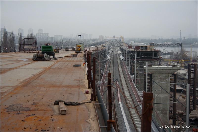 Дарницький залізнично-автомобільний  міст або міст Кірпи
