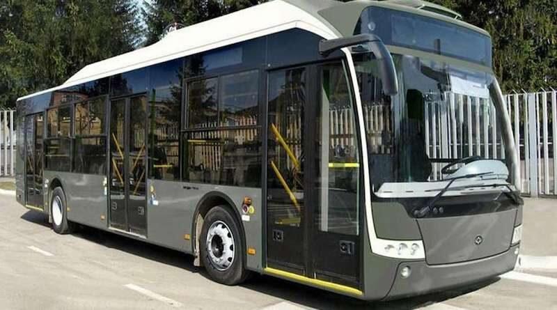 Київ закупить до 20 електробусів в рамках Кіотського протоколу