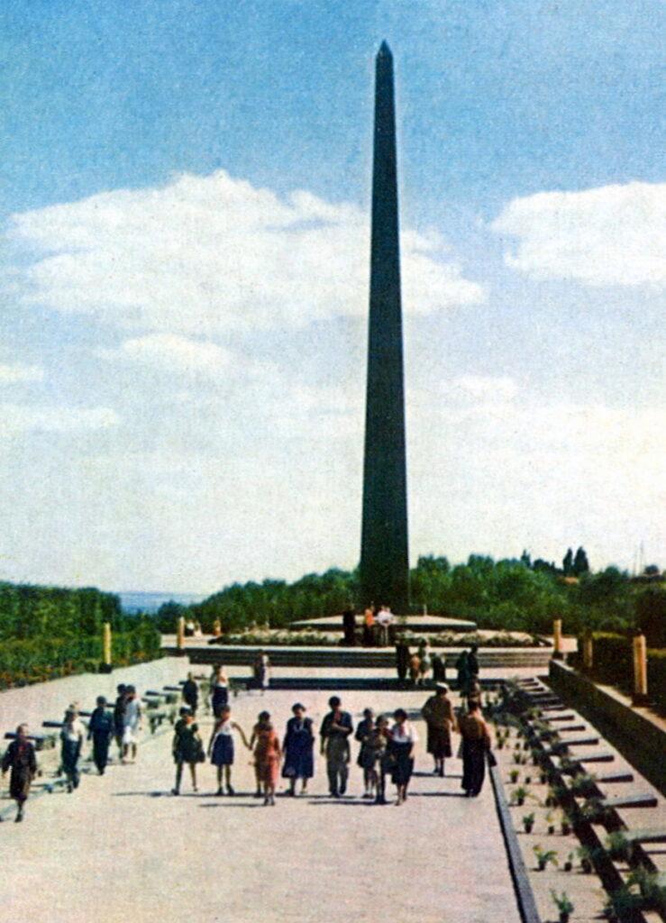 Киев на открытках 1962