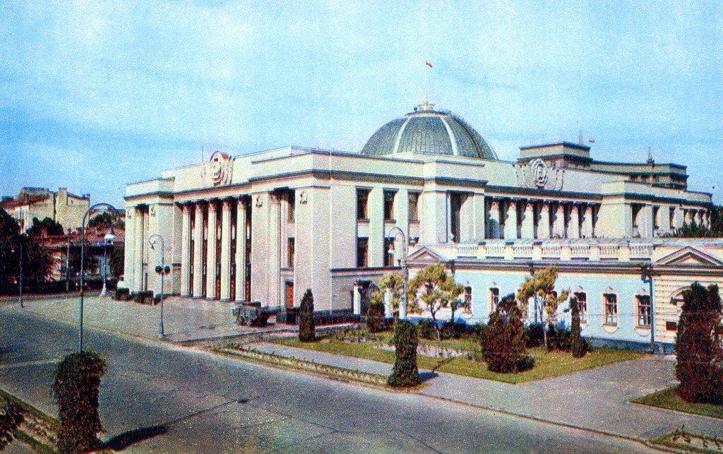 """Киев на открытках издательства """"Планета"""" 1970 года"""