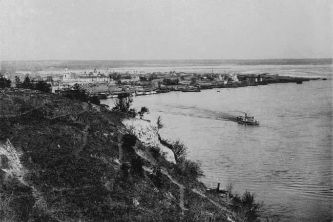 Київська гавань. Історія