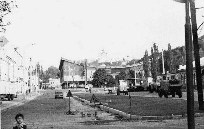 Ржаной рынок.  История
