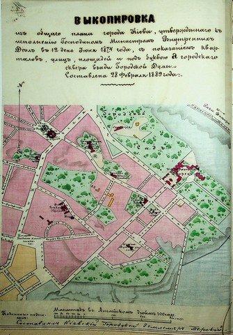 История главной улицы Киева в архивных документах