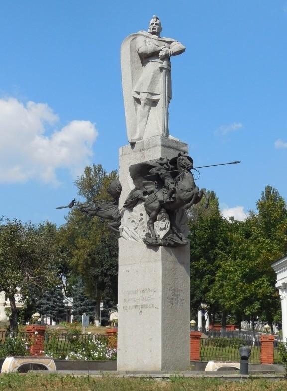 Пам'ятник Київському князю Святославу Ігоровичу