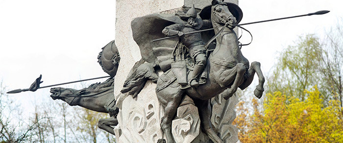 Памятник Киевскому князю Святославу Игоревичу