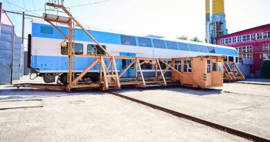 Киевский электровагоноремонтный завод конца 2021 года выпустит на маршрут один из двух поездов Skoda