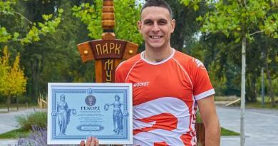 У Києві встановили креативний біговий рекорд