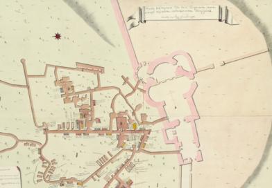 Плани катакомб Києво-Печерської лаври 1745 року