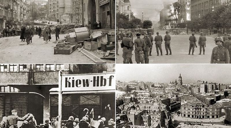 Київ під нацистами: хто палив і підривав Хрещатик