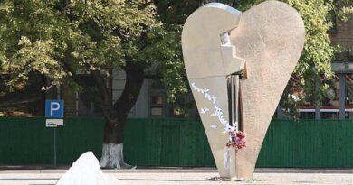 Пам'ятник жертвам тероризму