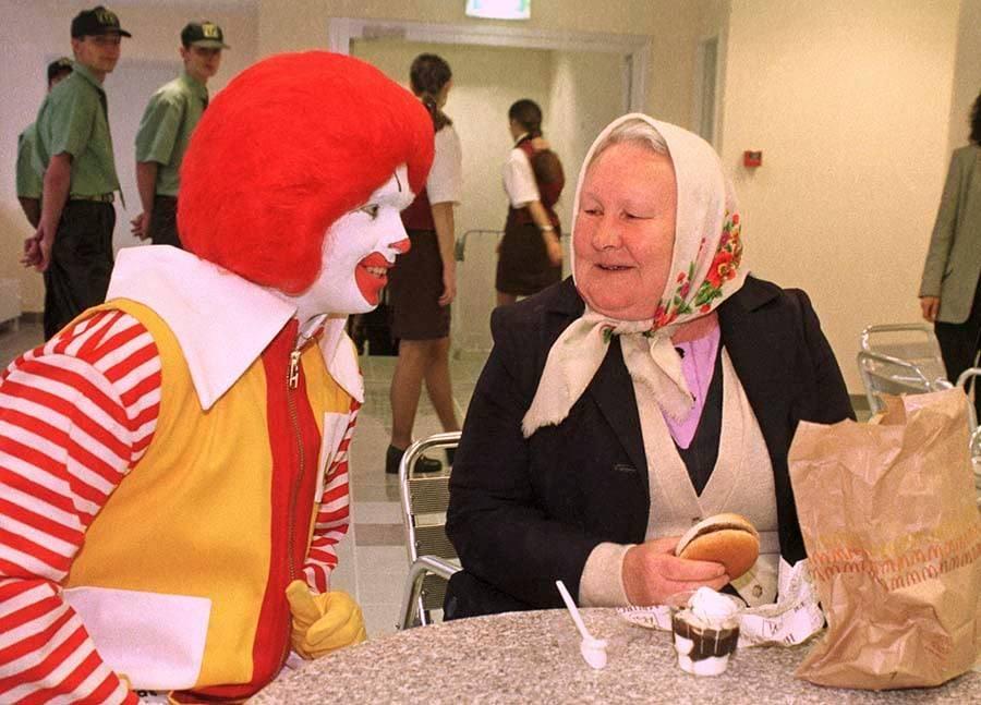 Первый McDonalds в Киеве