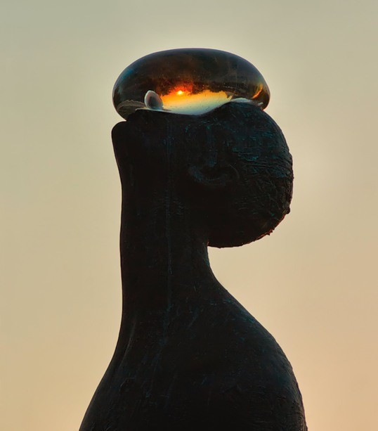 Скульптура «Дощ»