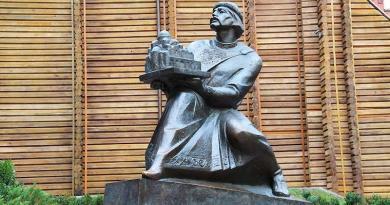 З історії київських пам'ятників - Пам'ятник Ярославу Мудрому.