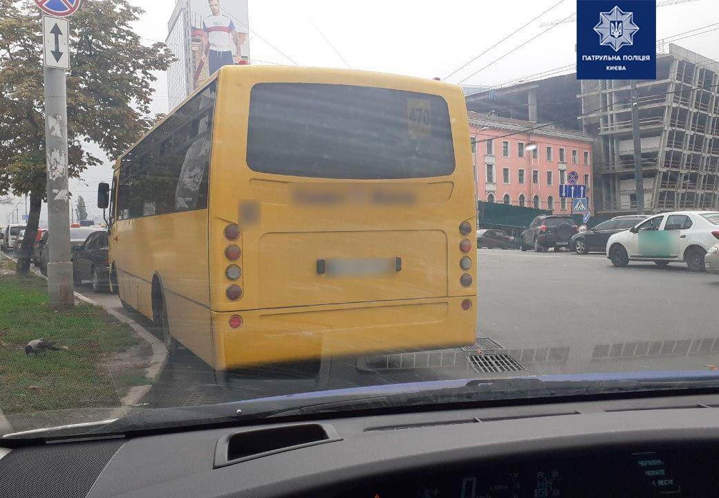 Водій маршрутки, перебуваючи під дією наркотиків, перевозив пасажирів у Києві, – патрульна поліція