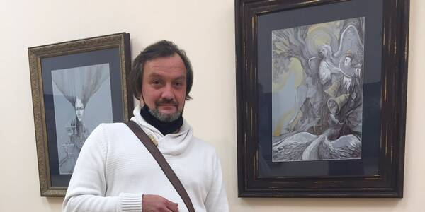 Твори київського художника та педагога демонструють у музеї Шолом-Алейхема