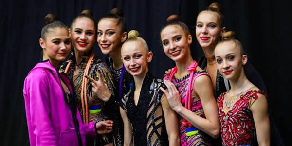 У Києві стартував 36-й чемпіонат Європи з художньої гімнастики